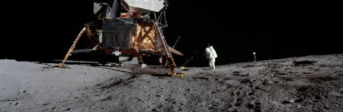 NASA慶祝登月50周年!高科技重現「月球全景照」眾人驚呆