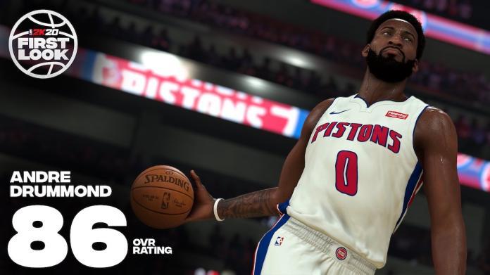 NBA/2K20能力數值不如去年 活塞門神卓拉蒙德神回應