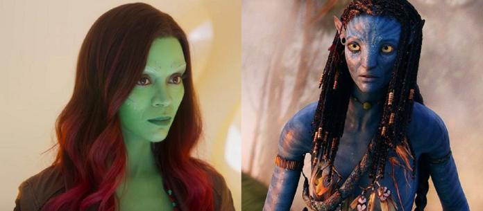 最賣座電影都有她 「葛摩拉」柔伊莎達娜演藍演綠都吸金