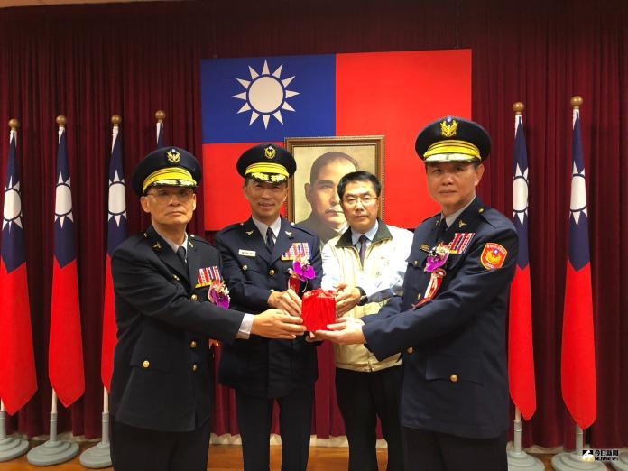 台南市警察局局長交接典禮