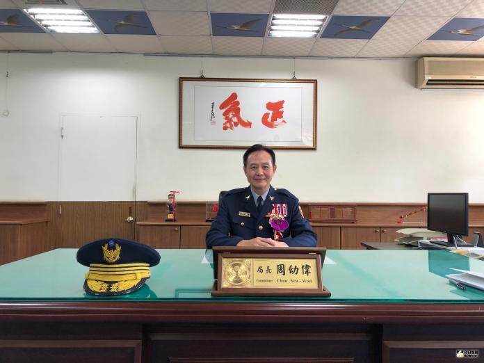 台南市警察局局長周幼偉表示,以平常心接任局長職務,在前局長黃宗仁打下的良好基礎上,盡全力、努力做好