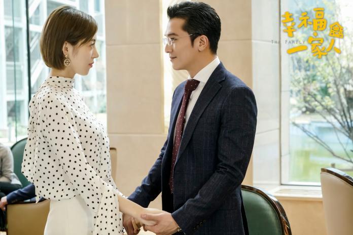 何美璇在劇中對邱澤一見傾心,扮演了家庭糾紛時的貼心潤滑劑(恩喬依影視提供)