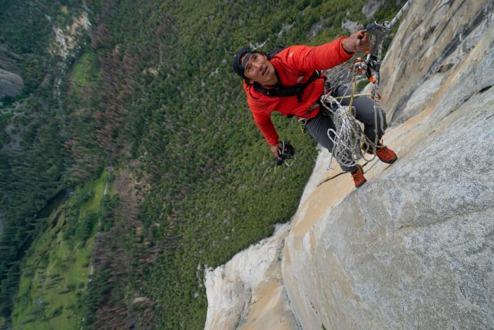 ▲《赤手登峰》這部勇奪奧斯卡最佳紀錄片是由華裔導演金國威執導(圖/海鵬)
