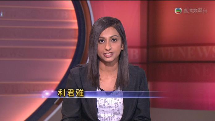 ▲33歲的利君雅是生長在香港的巴基斯坦裔記者。(圖/翻攝網路)