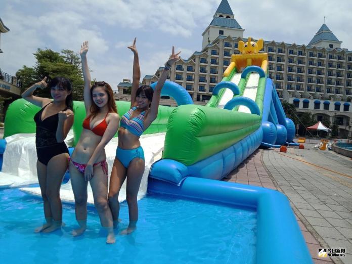 暑假出遊省錢好去處 <b>漁人碼頭</b>免費水陸樂園