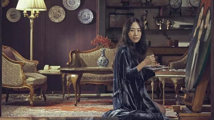 ▲《血觀音》吳可熙飾演棠寧(圖/双喜電影、威視電影)