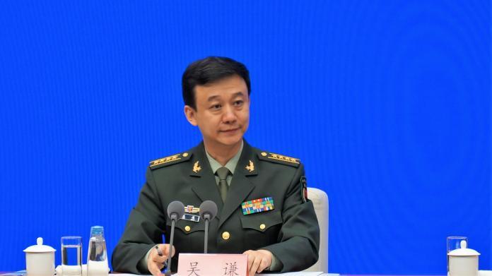 ▲中國國防部發言人吳謙曾多次公開警告,台獨是絕對行不通的死路。(圖/翻攝網路)