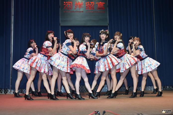 ▲AKB48 Team TP舉辦第2張EP發片記者會。(圖/記者林柏年攝, 2019.07.24)