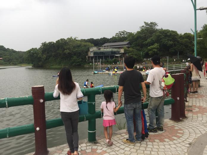 ▲新竹市青草湖風景區經整治後,觀光商機再現。(圖/信義房屋提供)