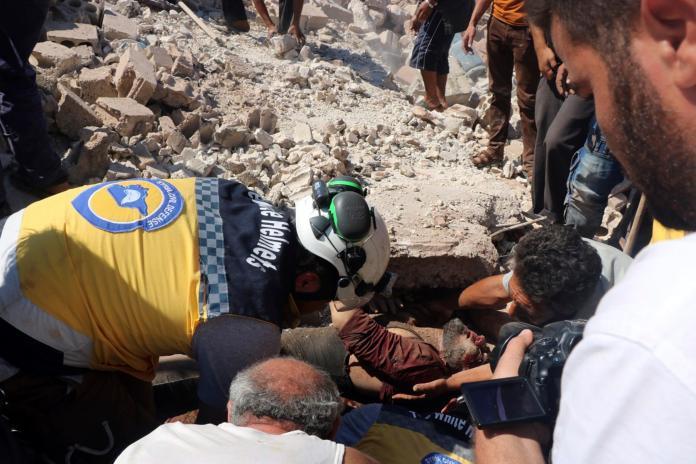 ▲戰爭讓敘利亞民不聊生,日日生活在死亡陰影中。(圖/美聯社/達志影像)