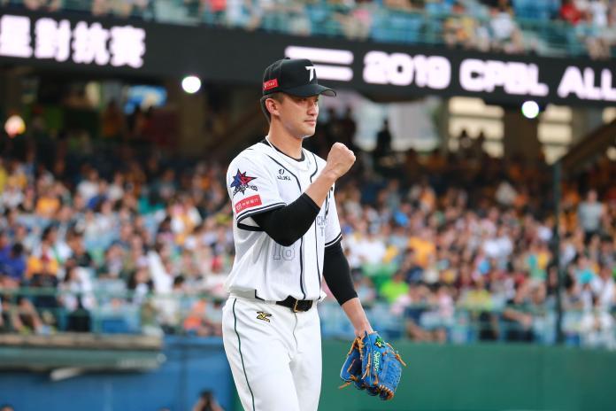 ▲中華職棒30年明星賽,中華隊投手吳昇峰。(圖/記者葉