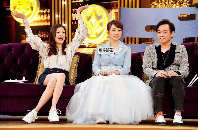 ▲ 何如芸(左起)、郁方、康康是超級好朋友。(圖/衛視中文台提供)