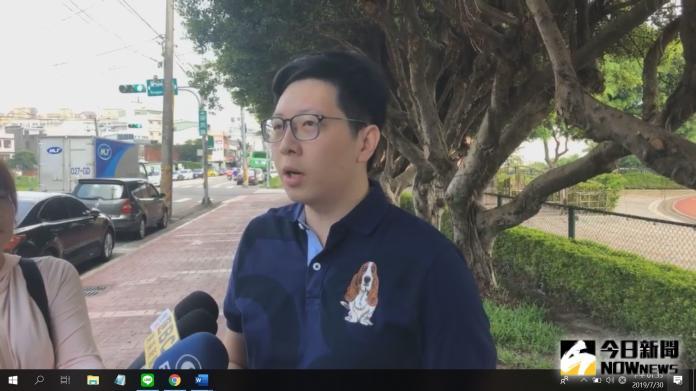 綠黨議員王浩宇。 (圖/翻攝王浩宇臉書)