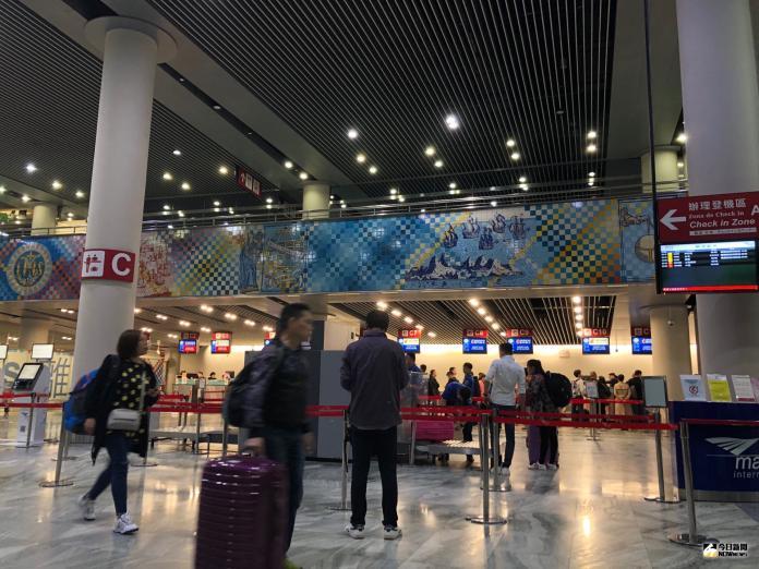 澳門機場新規定 8/5關櫃時間提早至起飛前60分鐘
