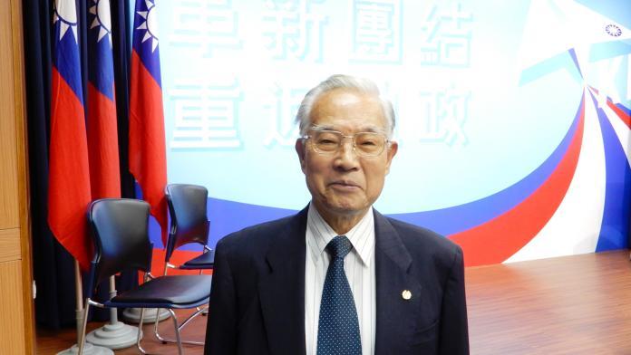 前國防部長伍世文。(圖 / 記者陳弘志攝,2019.07.31)