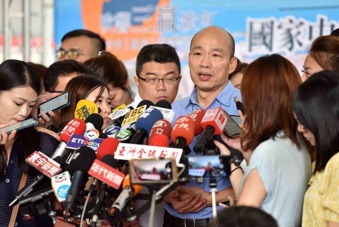韓國瑜正式提告前朝攝影官吳建鴻 座車裝追蹤器不告了