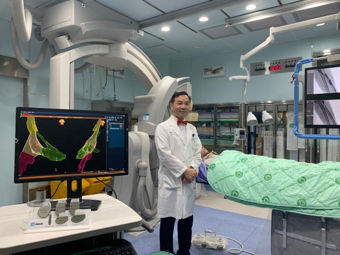 零輻射心導管電燒手術 病患可減少致癌風險