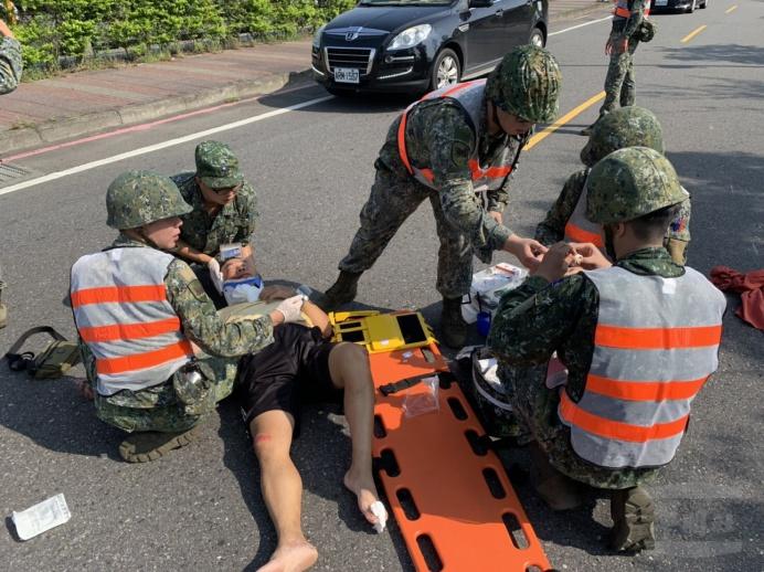 ▲ 陸軍三支部衛生營提供