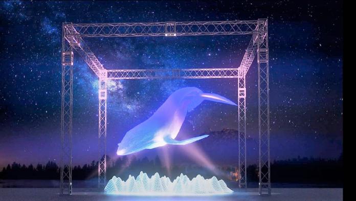 影/鯨動海灣 澎湖國際燈光節15米巨鯨驚嚇爆表