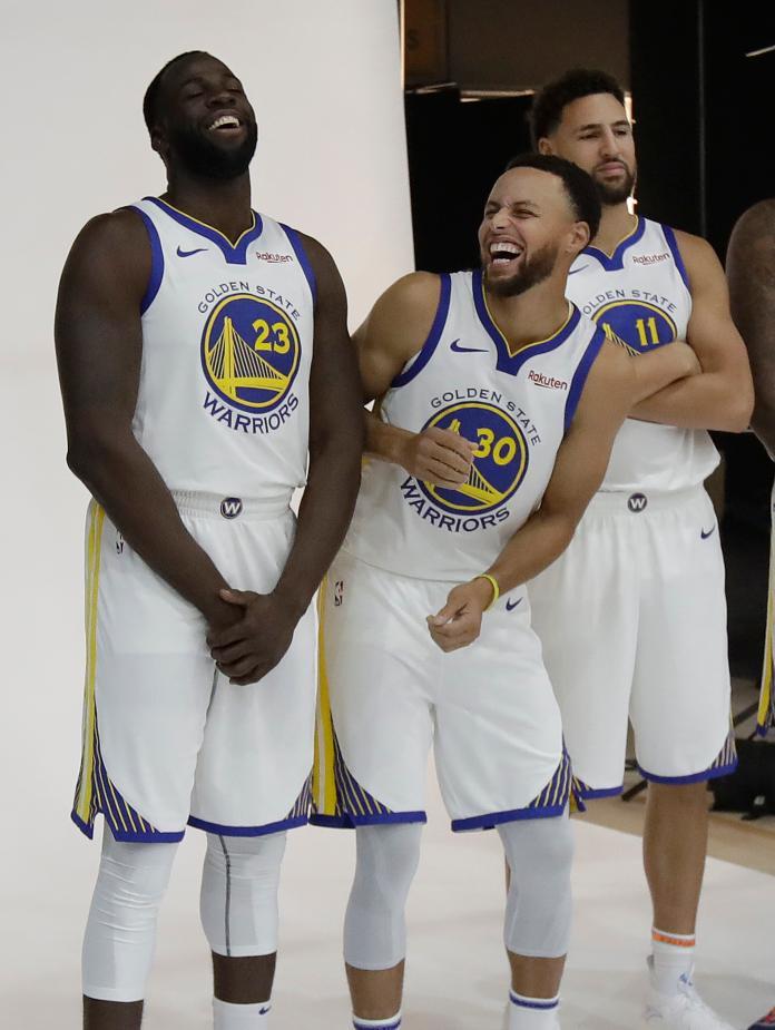 NBA/名球評要柯瑞效法喬丹 領導勇士安撫格林