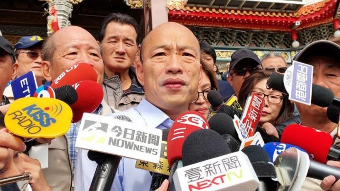 NOW早報/第一槍!軍系宣布放下一切恩怨 投票挺韓國瑜