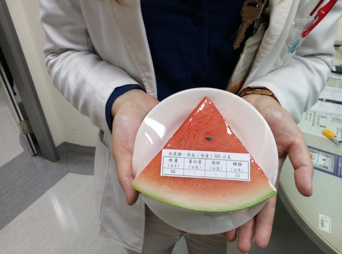 ▲西瓜在夏天常被當作消暑聖品,但腎臟病友卻不宜吃過量。(圖/大千綜合醫院提供)