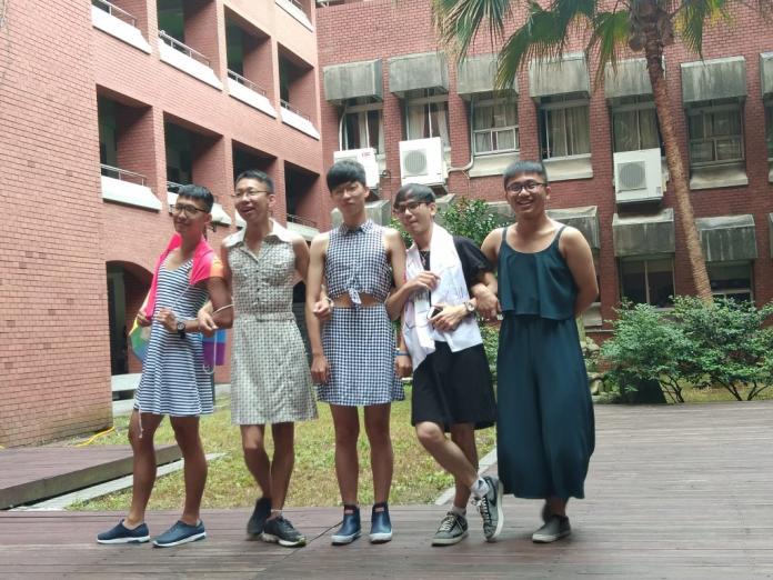 「裙」起打破界線 師大學生自主發起