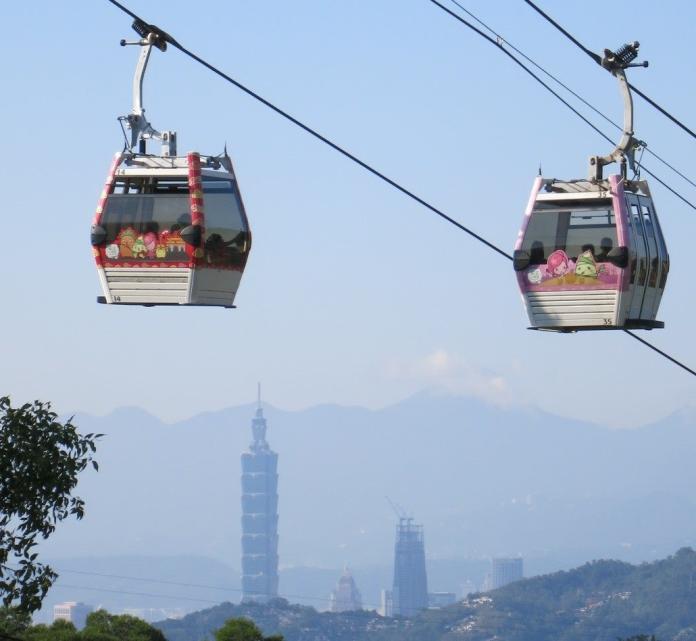 ▲利奇馬颱風步步進逼,台北捷運、貓纜及兒童新樂園已依SOP完成防颱應變 颱風期間必要時調整營運模式。(圖/擷取自台北捷運)