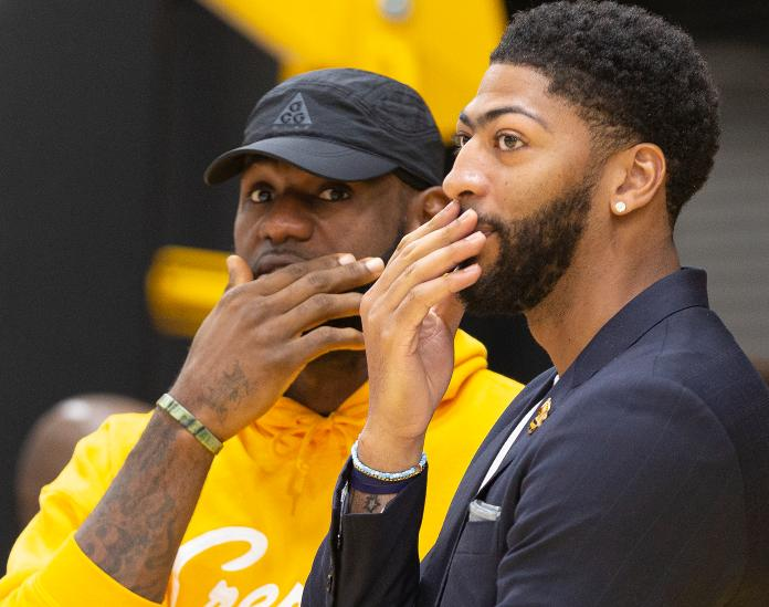 LeBron James, Anthony Davis