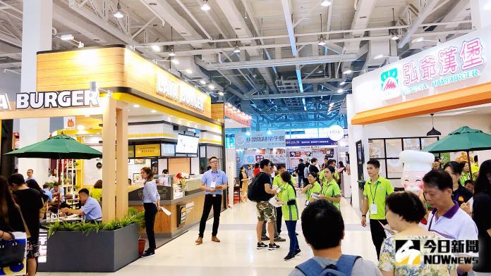 ▲台灣創業連鎖加盟大展,連續第5年於高雄舉辦。(圖/記者陳美嘉攝,2019.08.09)