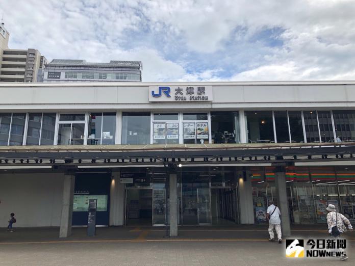 <br> ▲從京都搭乘 JR 列車只有 15 分鐘就能抵達大津車站。(圖/記者陳致宇攝)