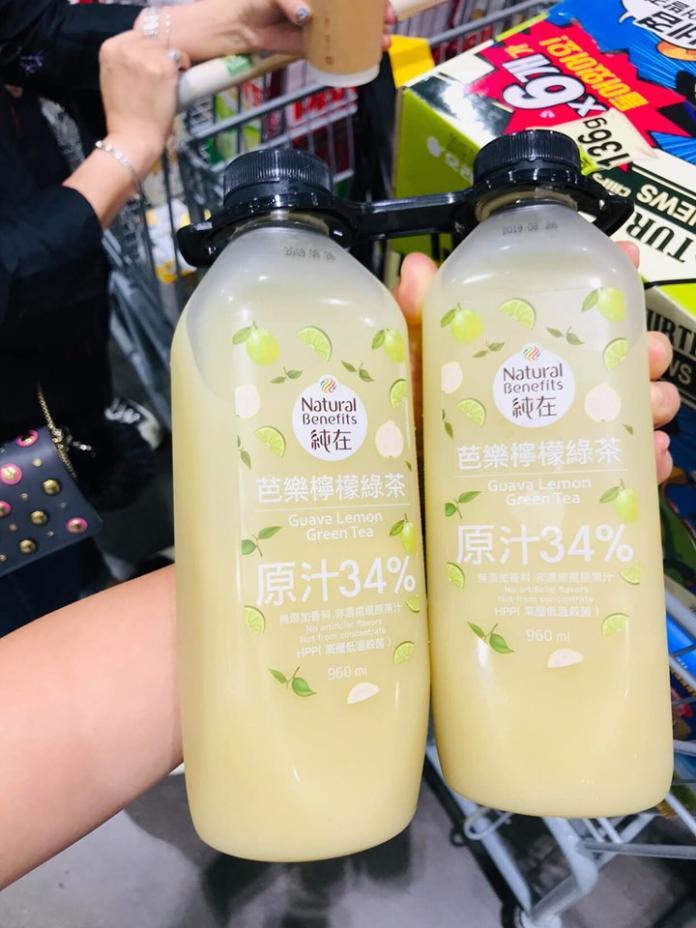 ▲芭樂檸檬綠茶。(圖/取自臉書社團「Costco好市多 商品經驗老實說」)