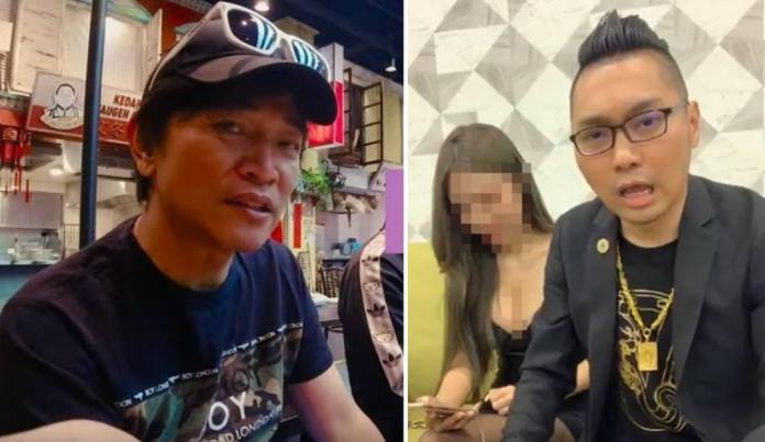 ▲連千毅(右)很不服氣憲哥批評網紅。(合成圖)
