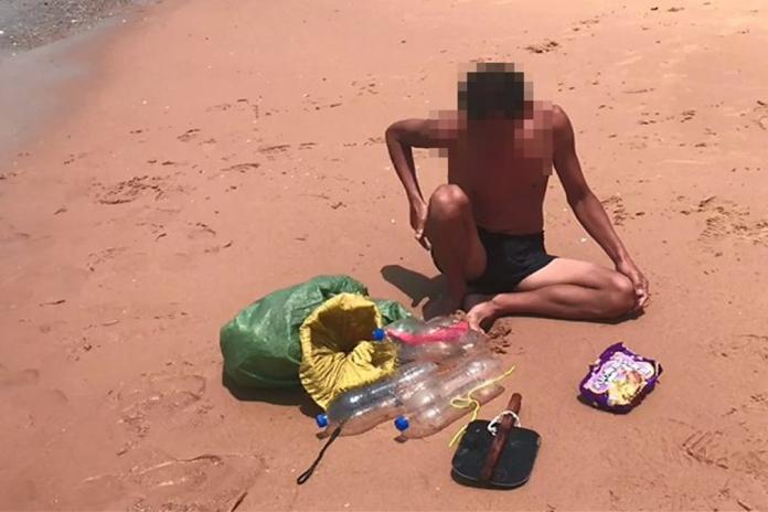 史上最牛偷渡客 抱4寶特瓶從漳州泅渡20公里到小金門