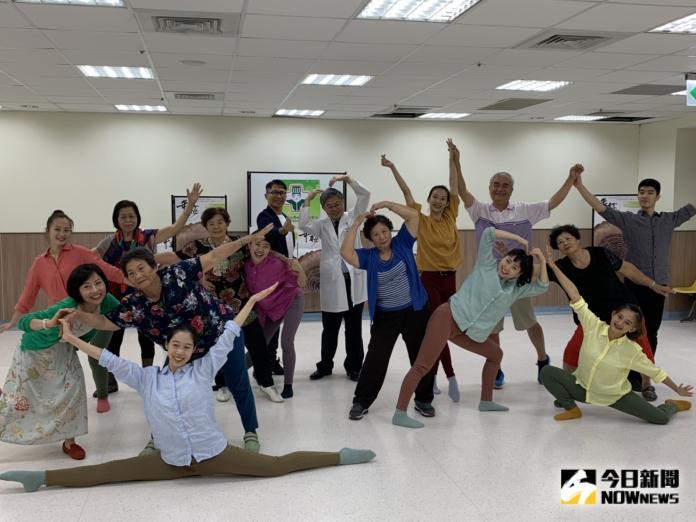 專業舞者編共融現代舞「<b>年輪</b>」 讓長輩舞出生命故事