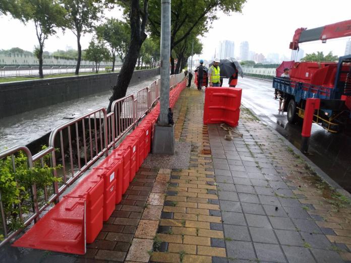 中市豪大雨經歷 水利整治奏效