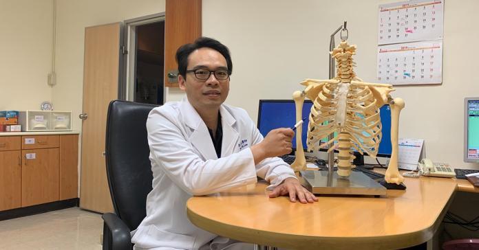 車禍肋骨斷12根胸痛難熬 肋骨固定提升患者生活品質