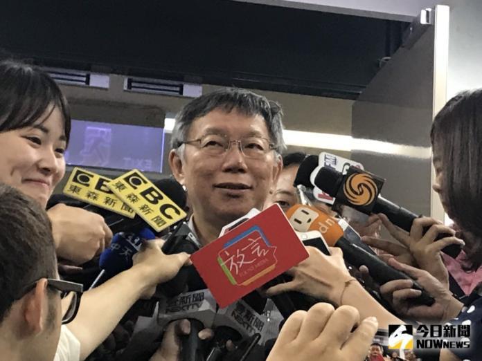影/郭柯王難會因王金平無法配合? 柯文哲:星期天還早