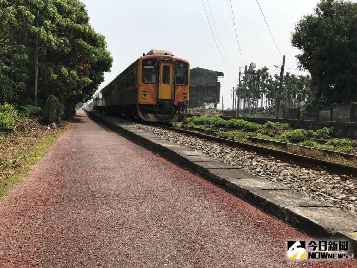 ▲可以追火車的二水自行車道。(圖/主辦單位提供)