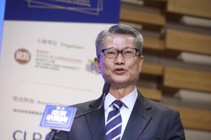 ▲香港財政司長陳茂波(圖/翻攝香港01)