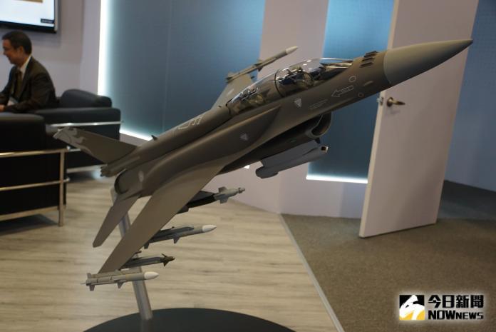 軍武/戰力最強!F-16V戰機模擬駕駛艙首度曝光