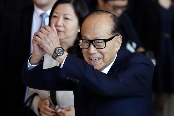 ▲香港首富李嘉誠,首度對反送中議題表態。資料照。(圖/美聯社/達志影像)