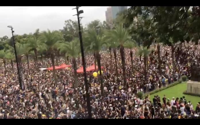 香港民陣今發起「<b>國際人權日</b>」遊行 百萬人有望重現街頭