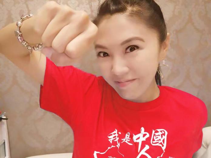 <br> ▲劉樂妍因親中言論,被外界戲稱為「女版黃安」。(圖/翻攝自劉樂妍微博)
