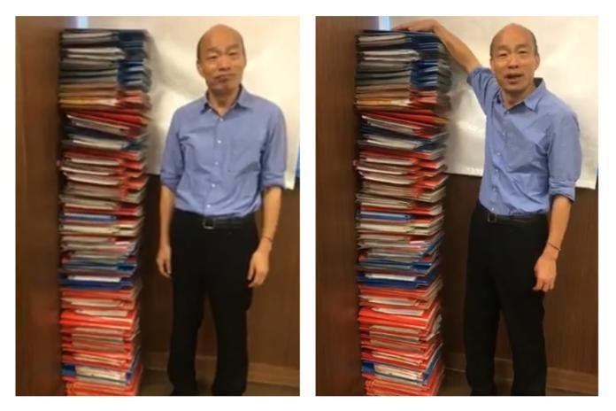 「公務員會氣死」韓國瑜直播秀<b>公文</b> 紅色最速件超多