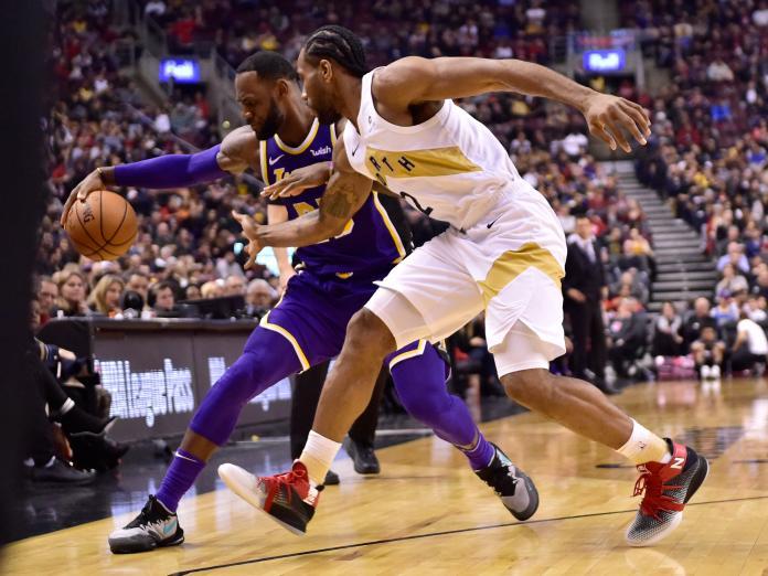 Lakers Raptors Basketball
