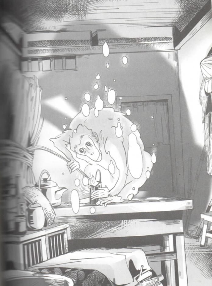 燈猴「由奇異果文創提供,《唯妖論》插圖」