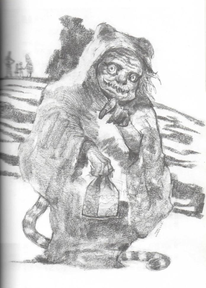 虎姑婆「由奇異果文創提供,《唯妖論》插圖」