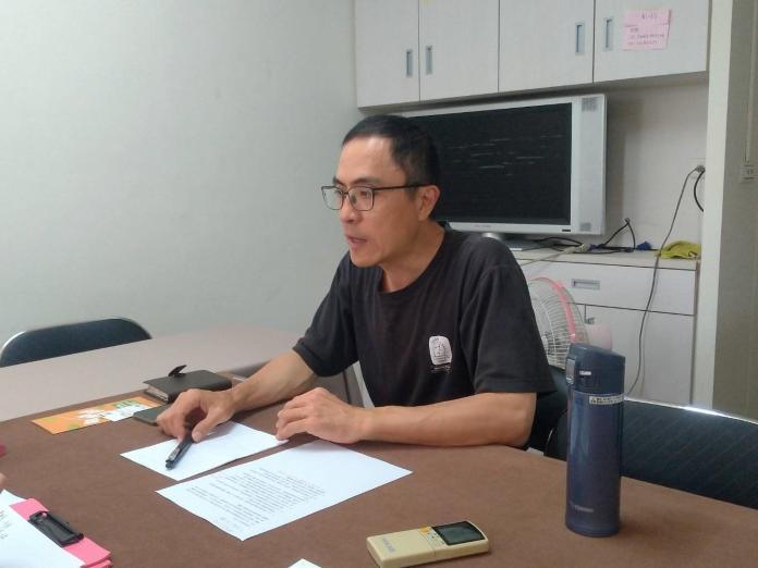 崔媽媽基金會執行長呂秉怡鼓勵學生參與青創計畫(圖/初聲記者李妍頻攝)