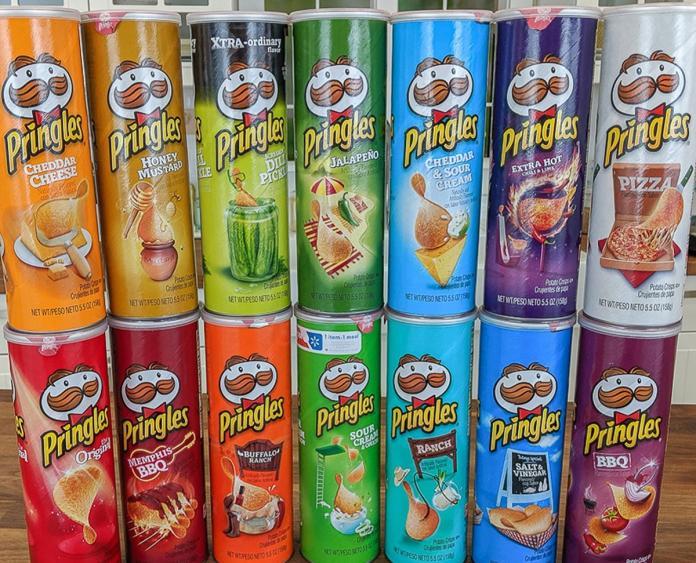 ▲品客洋芋片近年來推出相當多口味,其特別口味也引起許多網友討論。(圖/取自 tasteofhome )